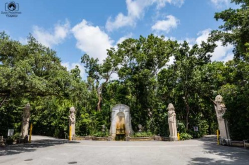 Esculturas nos Jardins do Vizcaya Gardens em o que fazer em Miami Florida