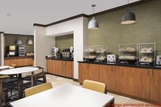 Buffet Café da Manhã no Fairfield Inn em Onde se hospedar em Miami