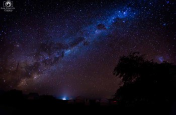 Vista da Via Láctea no Céu do Atacama - Tour Astronômico