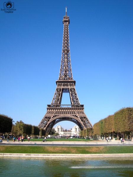 Torre Eiffel em o que fazer em Paris