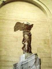 Vitória de Samotrácia em Pontos Turísticos em Paris