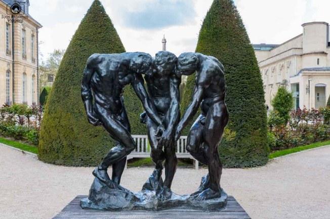 As Três Sombras de Rodin em no Roteiro de 5 dias em Paris