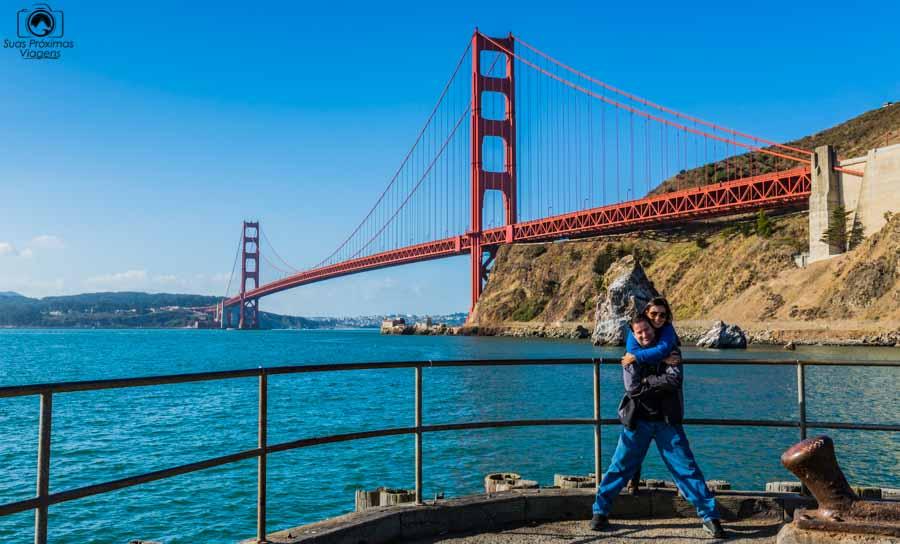 Golden Gate - Vista Point nas melhores dicas de San Francisco