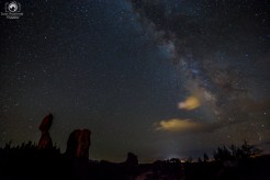 Milk Way at Arches National Park