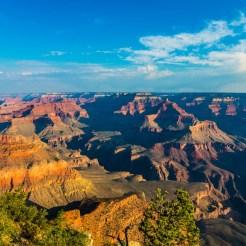 Amanhecer no Grand Canyon National Park