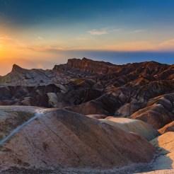 Zabriskie Point no Death Valley National Park