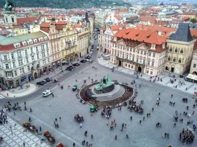 Praça Cidade Velha em Praga