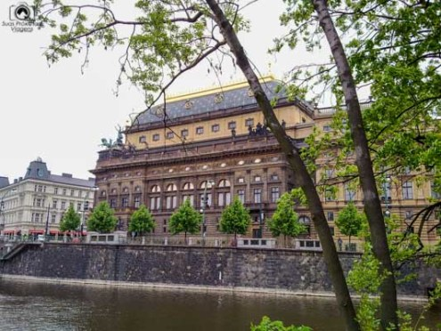 Teatro Nacional em Praga República Tcheca
