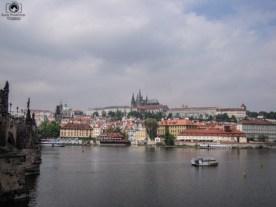 Rio Moldava em Praga
