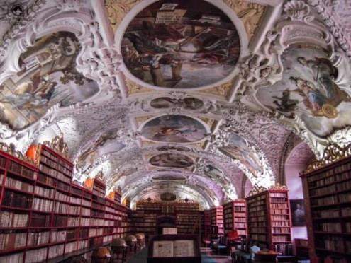 Biblioteca do Mosteiro Strahov em Praga