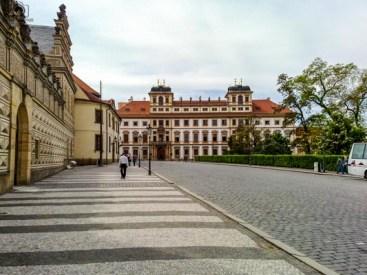 Rua do Castelo em Praga