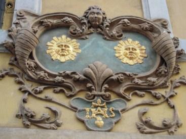 Identificação das Casas dois Sóis em Praga