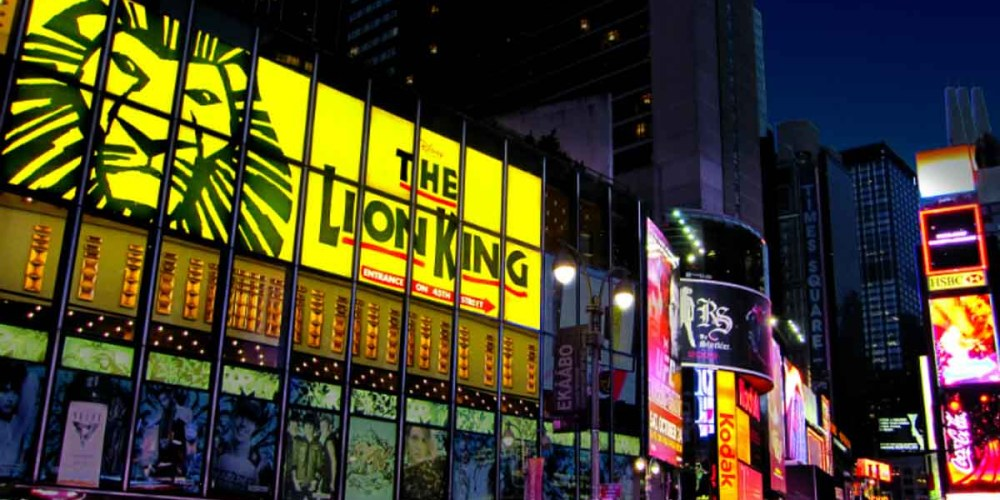 Rei Leão na Broadway