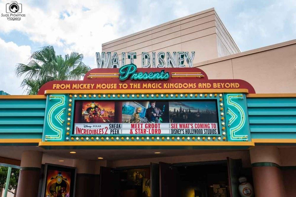 Cinema no Hollywood Studios