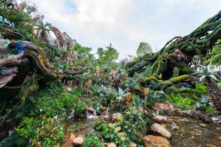 O mundo de Avatar no Animal Kingdom em parques em Orlando
