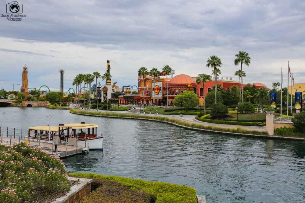 Um passeio pelo Universal City Walk em Parques em Orlando