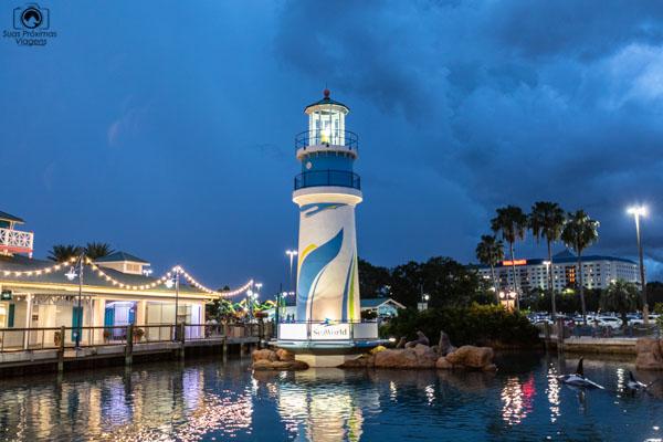 Seaworld em Orlando