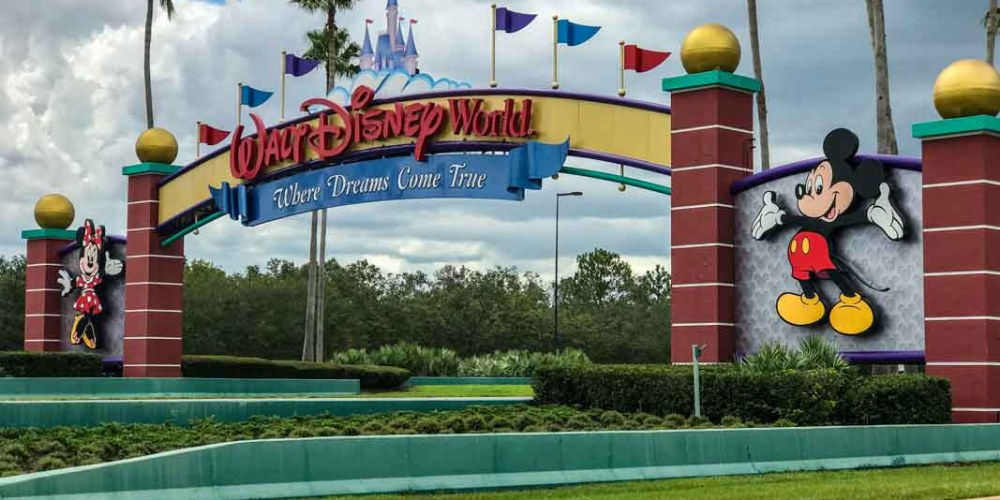 Tradicional Entrada da Disney nos Parques em Orlando