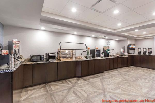 Café da Manhã do Wingate by Wyndham Convention Ctr em onde ficar em Orlando