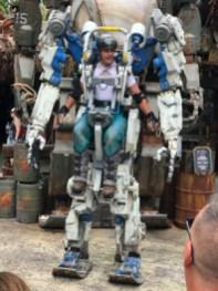 Robo do Avatar nos Parques da Disney