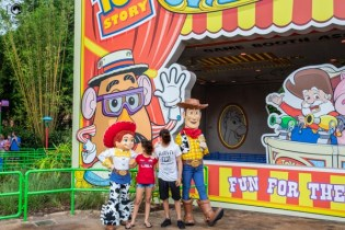 Toy Story Land nos parques da disney orlando