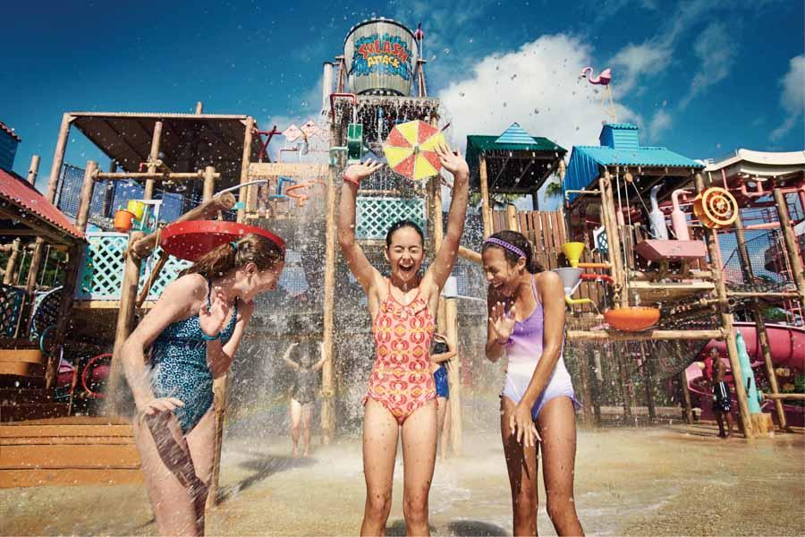 Splash Attack no Adventure Island