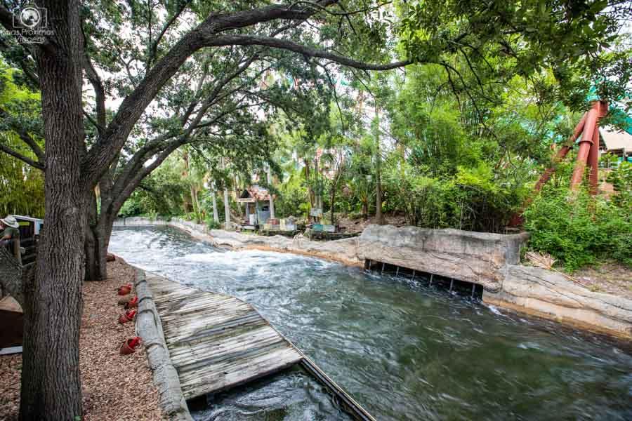 Congo River Rapids no Busch Gardens