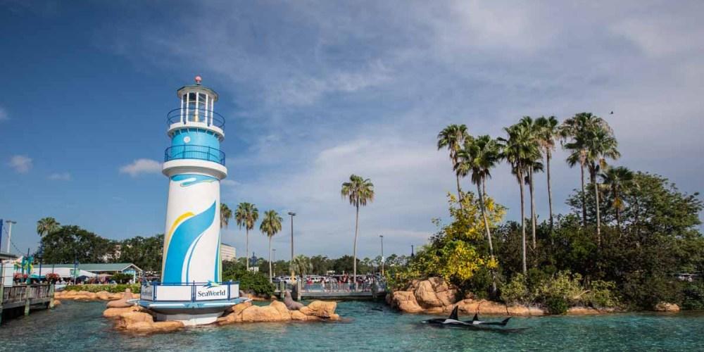 Entrada do Seaworld Orlando