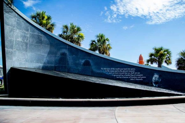 Memorial John F Kennedy no Kennedy Space Center