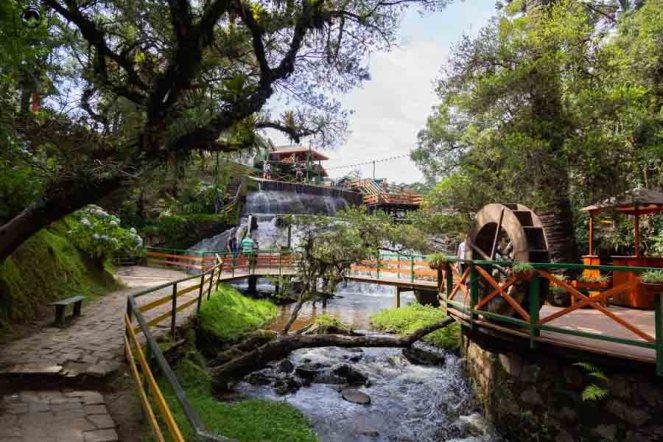 Imagem da Cachoeira Chuva de Prata em Campos do Jordao pontos turisticos