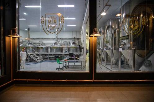 Imagem da Área de Preparação da Cerveja Baden Baden em Campos do Jordão