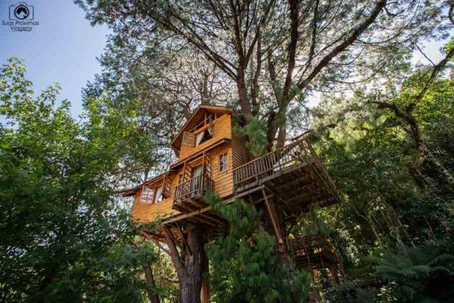 Foto da Casa na Árvore no Amantikir em Campos do Jordão