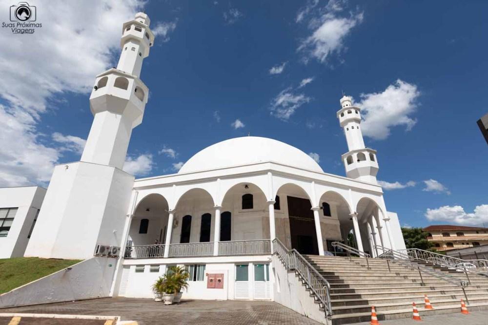 Vista da Mesquita Omar Ibn Al-Khattab