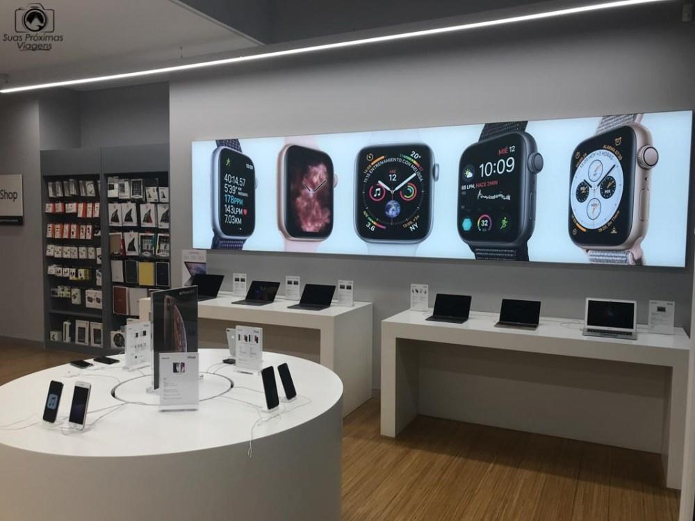 Vista interna da iShop, Shopping Paris, Compras no Paraguai
