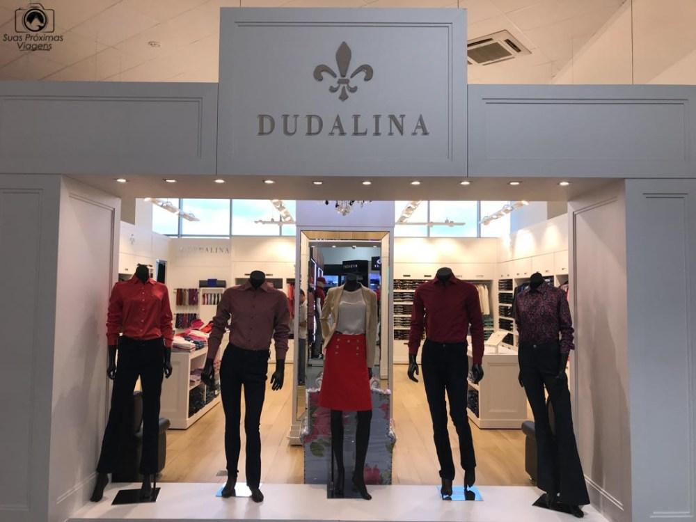 Vista da loja Dudalina no Shopping China, Compras no Paraguai