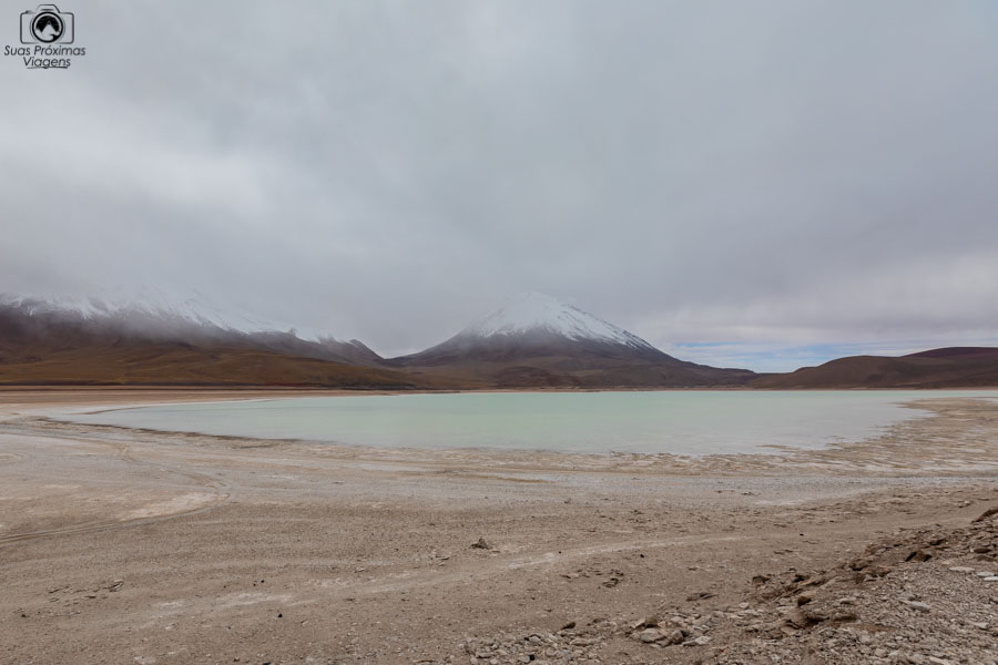 Foto da Laguna Verde a caminho do Salar de Uyuni