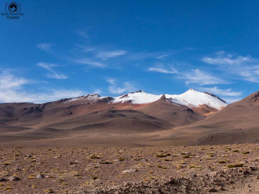 Foto do Deserto de Dali no sul da Bolívia