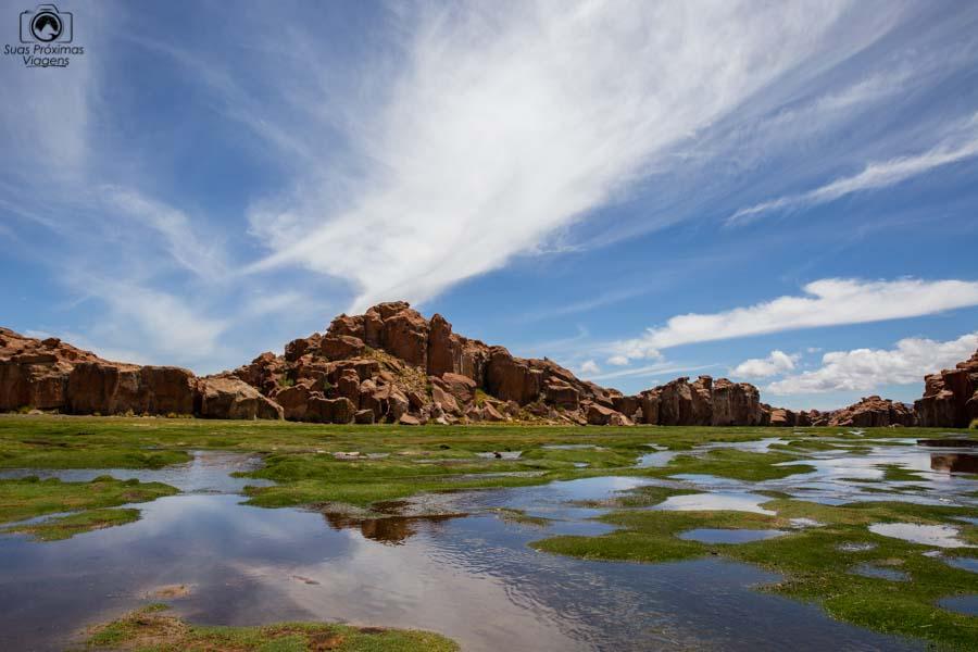 Imagem da Laguna Negra no Sul da Bolívia