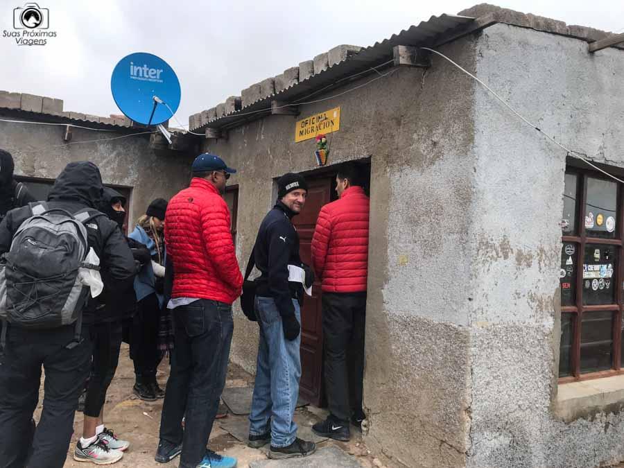 Imagem do Posto de imigração da Bolívia