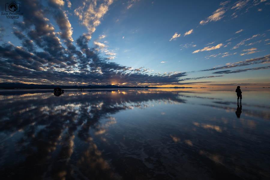 Imagem do Amanhecer no Salar de Uyuni