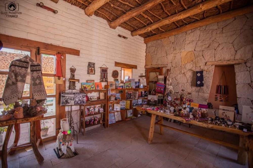 Vista da Loja de Artesanato e Livros no Terrantai Lodge