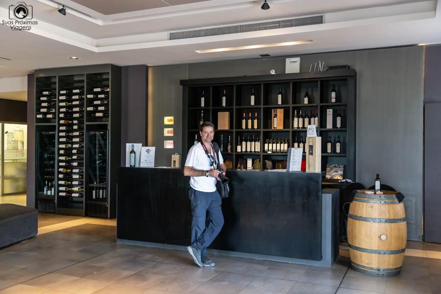 imagem da loja da vinicola Pulenta em Mendoza