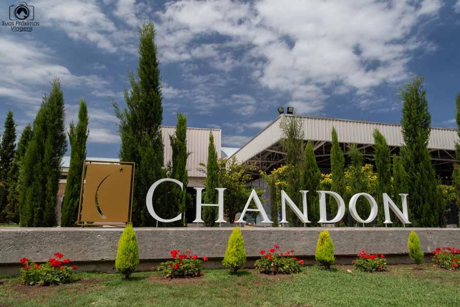 Imagem da Chandon em Mendoza