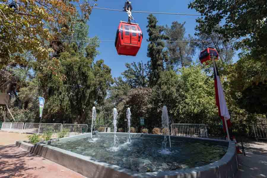 Imagem do Teleférico em Santiago do Chile
