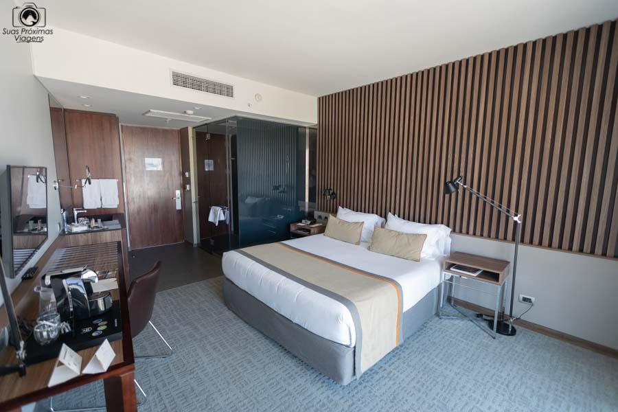 Imagem do Quarto do Hotel Cumbres de Vitacura