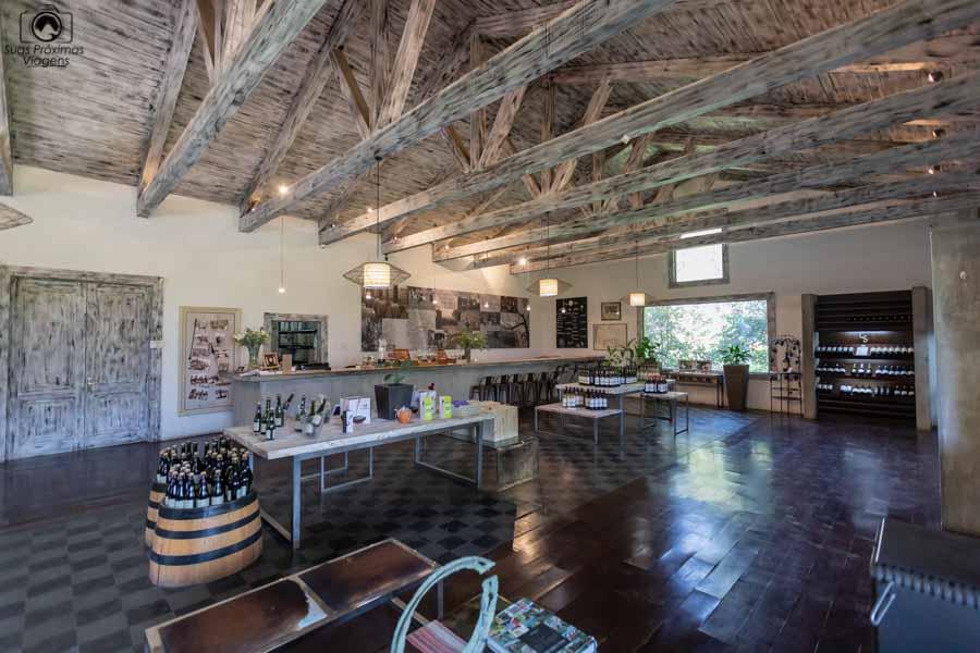 Imagem do Wine Bar na Viña Casa Silva
