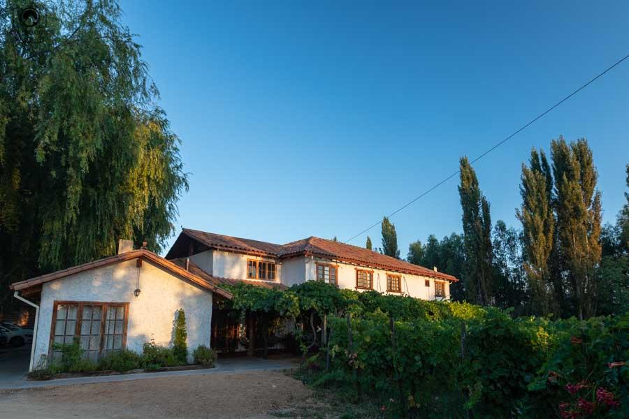 imagem do hotel parronales em valle de colchagua