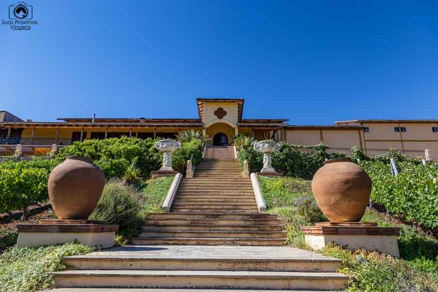 imagem da vinícola Santa Cruz nos melhores vinhos chilenos