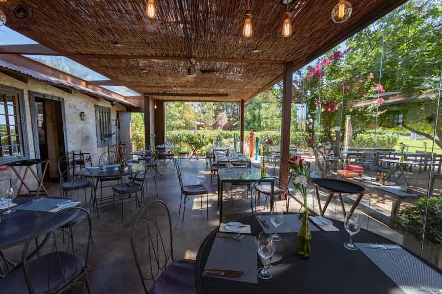 Imagem do restaurante Rayuela na vinícola Viu Manent