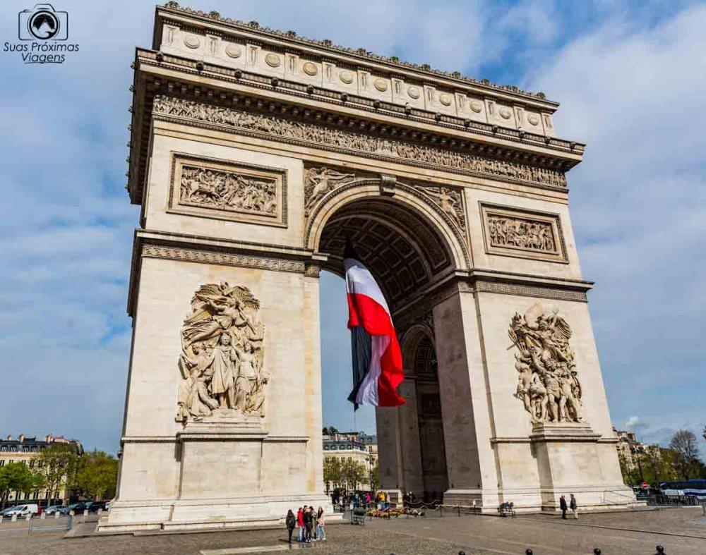 Arc de Triumph em melhores dicas de Paris